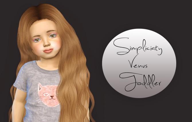 Simpliciaty Cc Venus Toddler Version At Simiracle 187 Sims 4