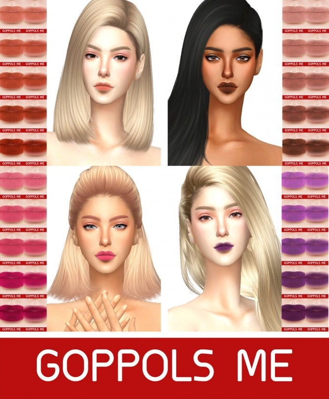 Sims 4 GPME Collection Matte at GOPPOLS Me