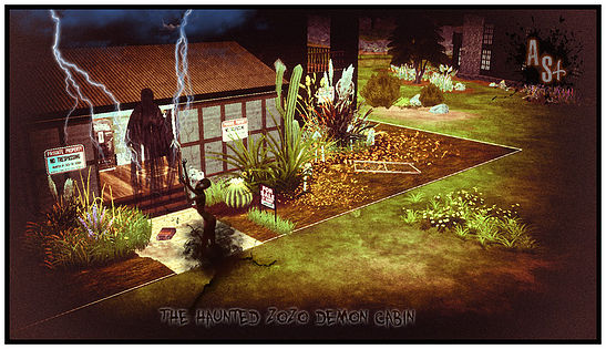 The Haunted Zozo Cabin at Abandoned Sims image 1283 Sims 4 Updates