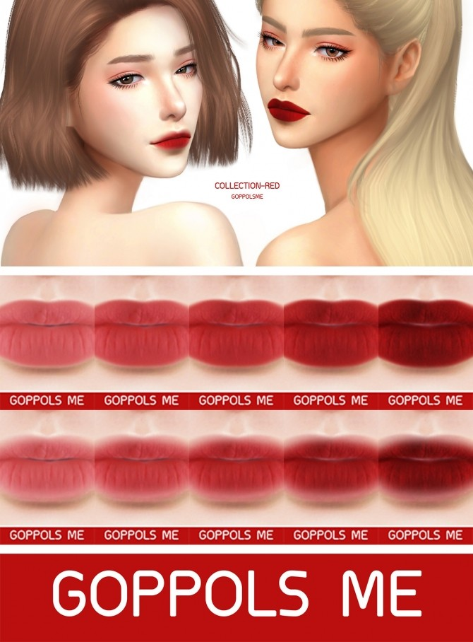 Sims 4 GPME Collection Red Matte at GOPPOLS Me