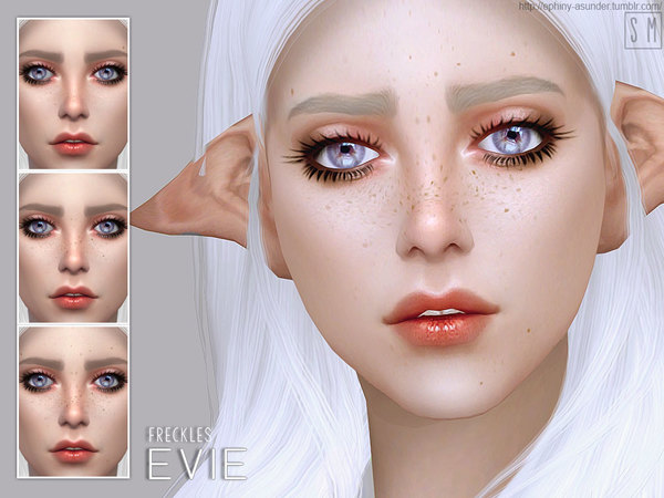 Evie freckles by Screaming Mustard at TSR image 1307 Sims 4 Updates
