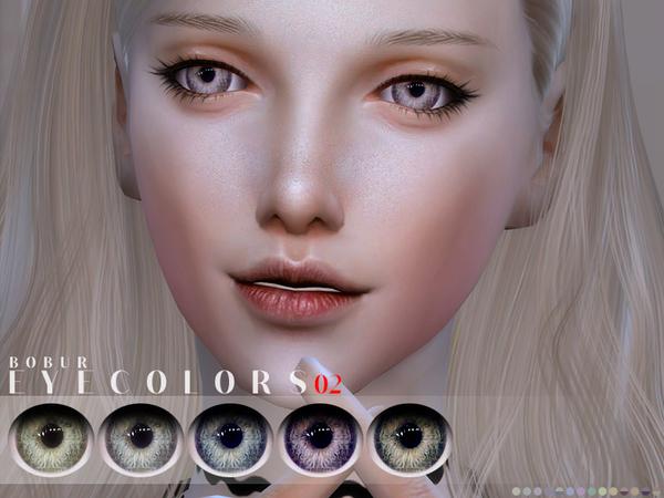 Sims 4 Eyecolors 02 by Bobur3 at TSR