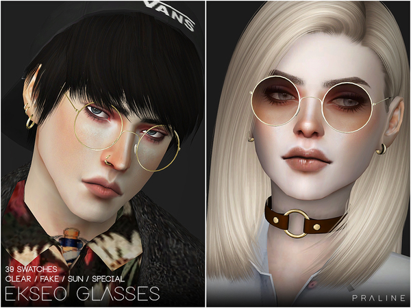 EKSEO Glasses by Pralinesims at TSR image 1359 Sims 4 Updates