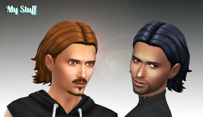 Sims 4 James Hair at My Stuff