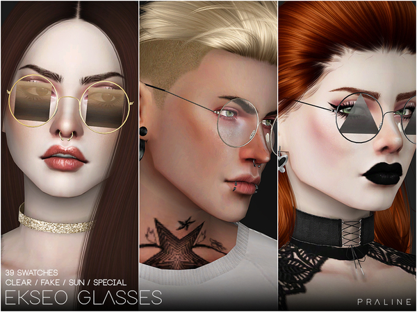 EKSEO Glasses by Pralinesims at TSR image 1369 Sims 4 Updates