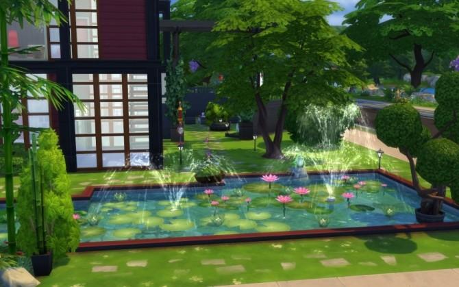 Sims 4 Kazoku house by Bloup at Sims Artists