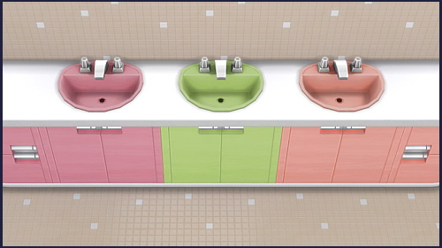 Harmony round sink at CappusSims4You image 1385 Sims 4 Updates