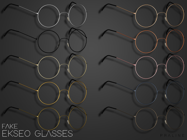 EKSEO Glasses by Pralinesims at TSR image 1389 Sims 4 Updates
