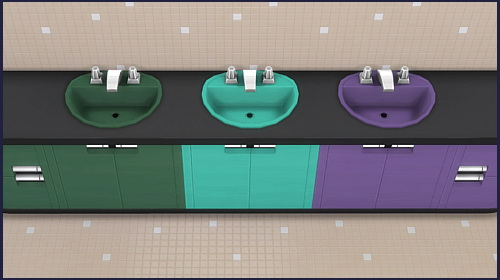 Harmony round sink at CappusSims4You image 1395 Sims 4 Updates