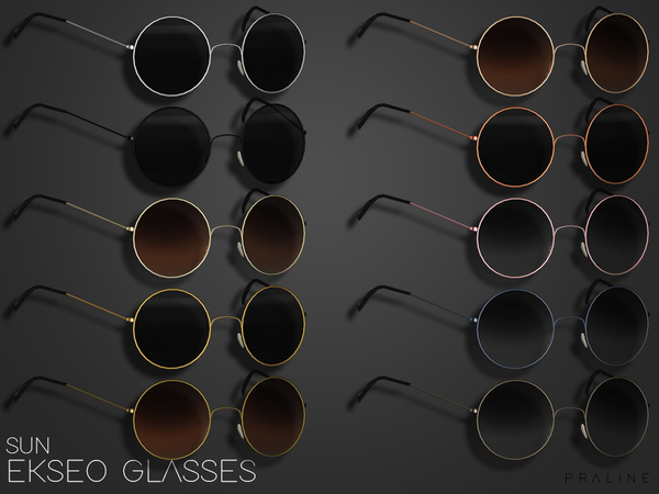 EKSEO Glasses by Pralinesims at TSR image 1399 Sims 4 Updates