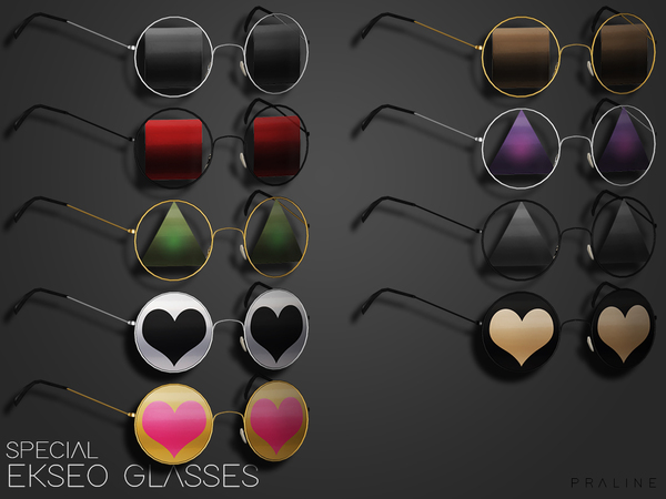 EKSEO Glasses by Pralinesims at TSR image 1408 Sims 4 Updates