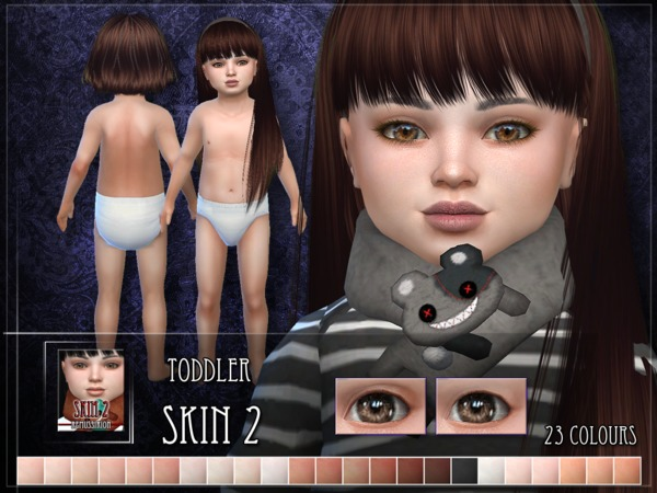 Sims 4 Toddler Skin 2 by RemusSirion at TSR