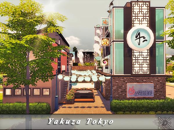Sims 4 Yakuza Tokyo Spa by Danuta720 at TSR