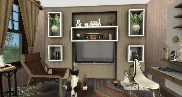 Leo livingroom at Pandasht Productions image 1426 Sims 4 Updates