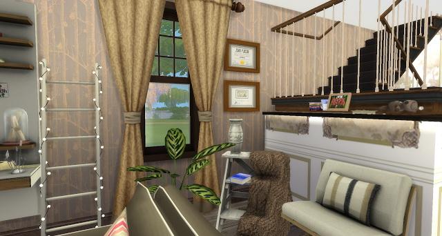 Leo livingroom at Pandasht Productions image 1435 Sims 4 Updates