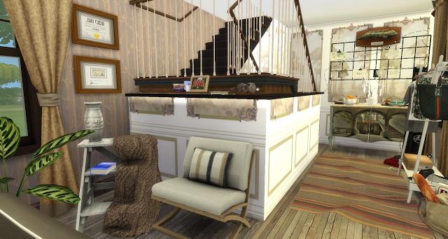 Leo livingroom at Pandasht Productions image 1445 Sims 4 Updates