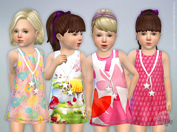 Sims 4 Toddler Dresses Collection P29 by lillka at TSR