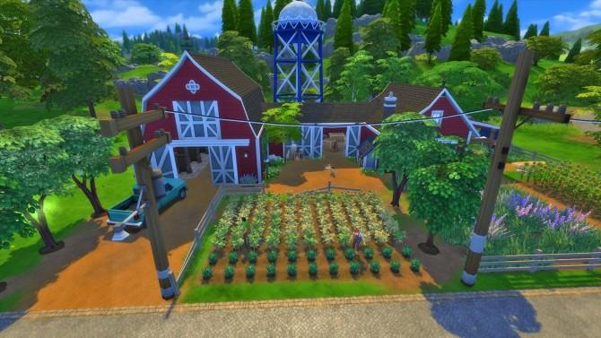Sims 4 Finchs farm by Arthur at Les Sims4