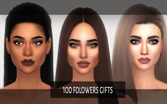 Eyeshadow and lipsticks at Didi2404 image 1462 670x419 Sims 4 Updates