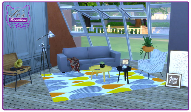 Sims 4 Scandinavian Style Rugs by Sophie Stiquet at Les Sims4