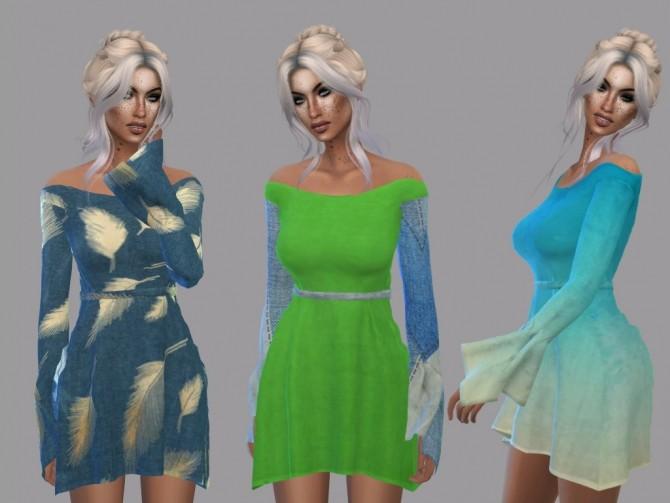 Dahliah Dress Recolor at Teenageeaglerunner image 1494 670x503 Sims 4 Updates
