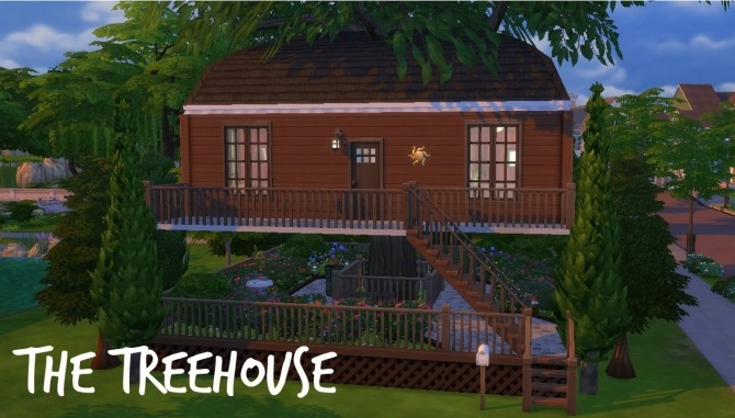Sims 4 The Treehouse by Innamode at Mod The Sims