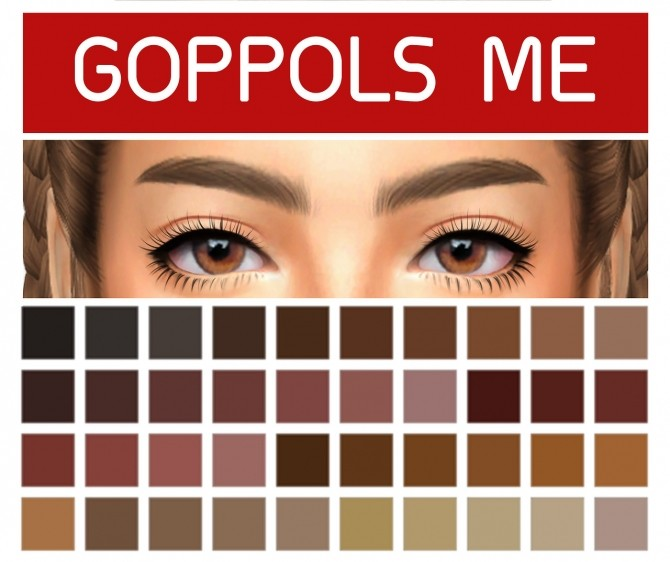 GPME Brows G1 at GOPPOLS Me image 1552 670x562 Sims 4 Updates