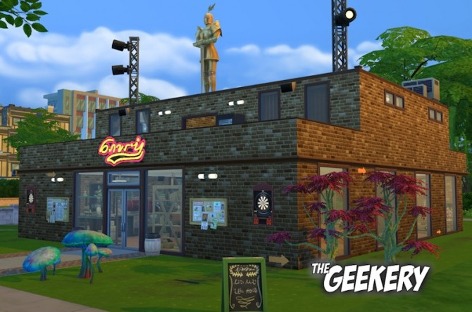 Sims 4 The Geekery by ElaineMc at Mod The Sims