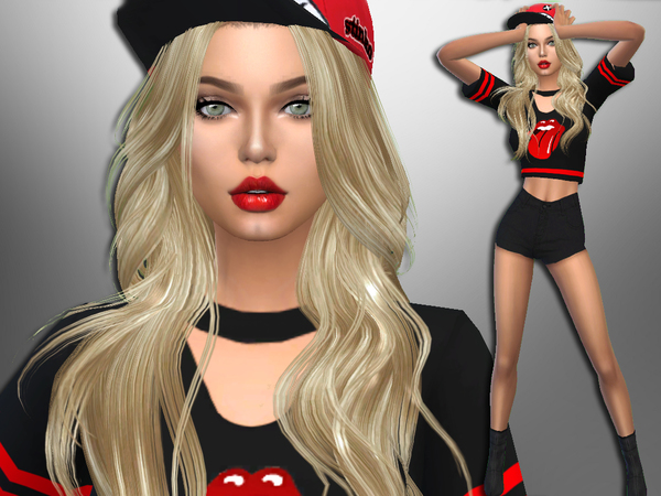 Sims 4 Stacie Redkey by divaka45 at TSR