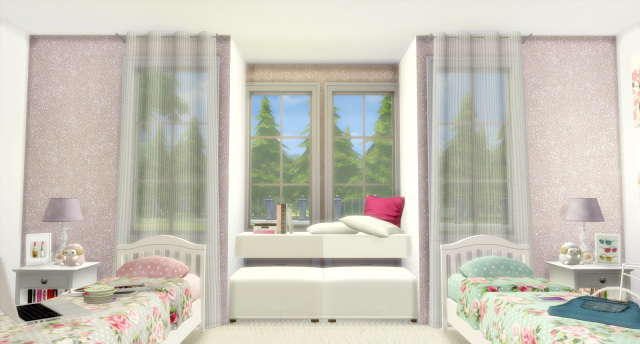 Twin Girls Bedroom At Lily Sims 187 Sims 4 Updates