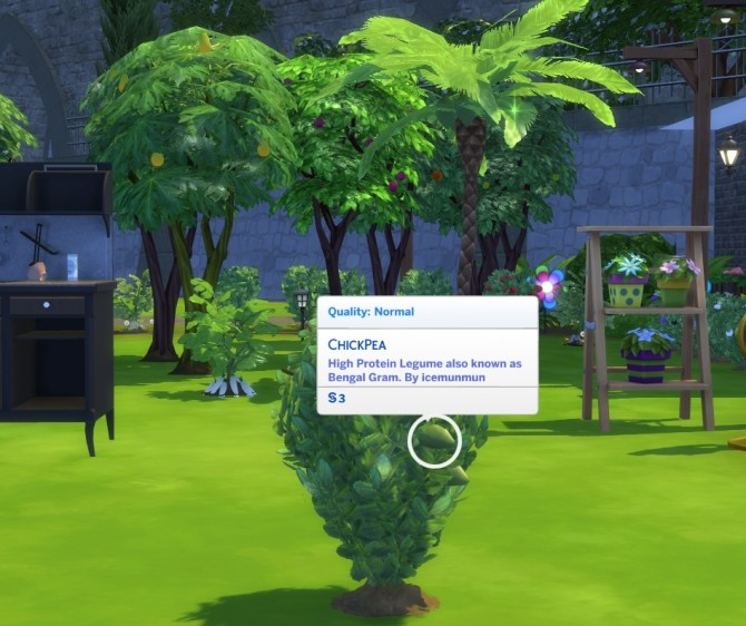 Custom Harvestable ChickPea by icemunmun at Mod The Sims image 1677 670x562 Sims 4 Updates