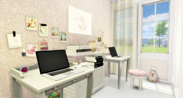 Twin Girls Bedroom at Lily Sims image 1704 Sims 4 Updates