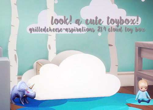 2t4 Cloud ToyBox at Grilled Cheese Aspiration image 1743 Sims 4 Updates
