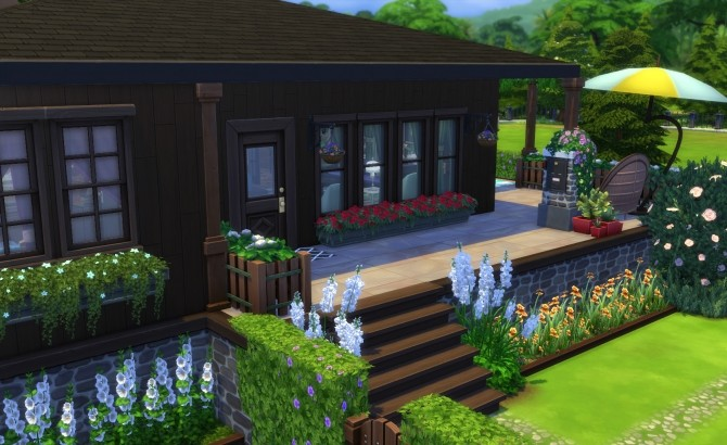 Sims 4 Larchwood Point house by Alrunia at Mod The Sims