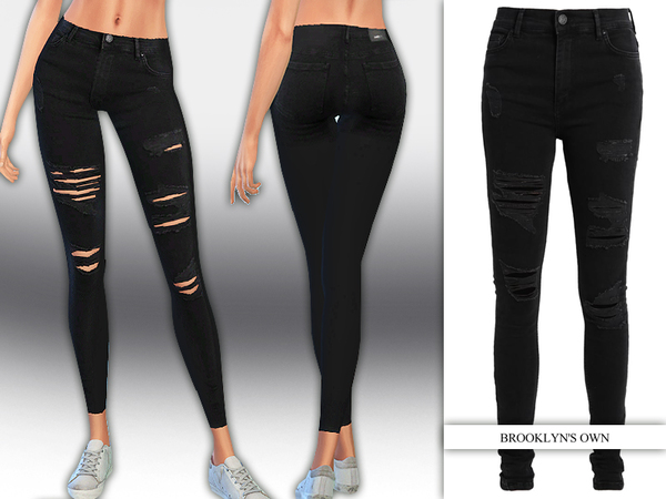 Dark Jeans by Saliwa at TSR image 1819 Sims 4 Updates