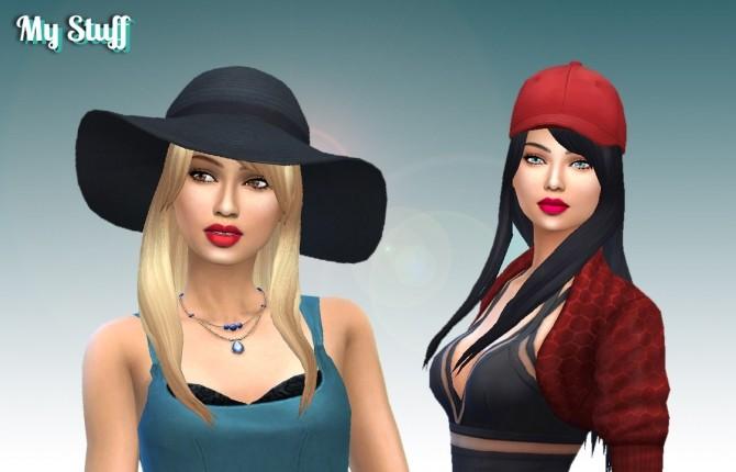 Sims 4 Diana Hair at My Stuff