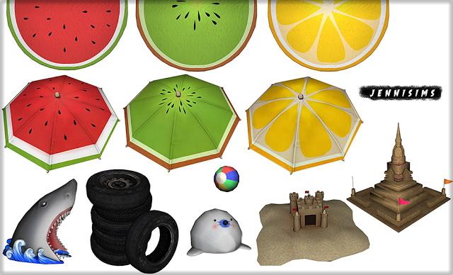 Sims 4 Set Vol 68 Decoratives 7 Items at Jenni Sims