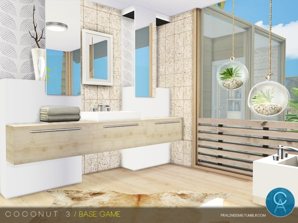 Coconut 3 house by Pralinesims at TSR image 1910 Sims 4 Updates