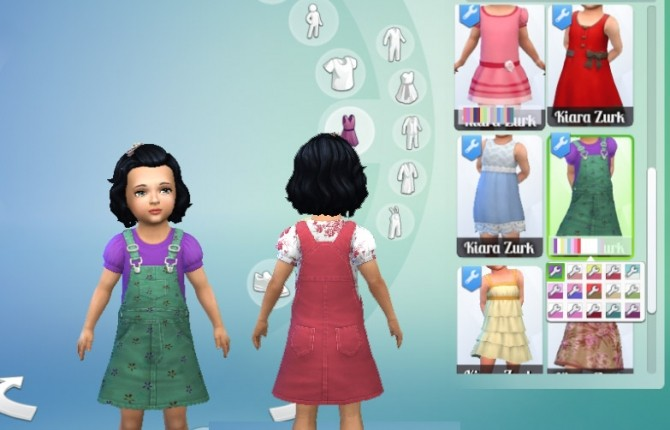 Sims 4 Overall Skirt at My Stuff