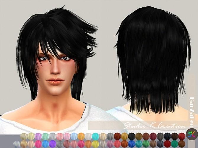 Animate hair 26 Kenji at Studio K Creation image 1962 670x502 Sims 4 Updates