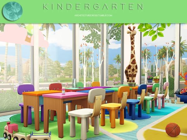 Sims 4 Kindergarten by Pralinesims at TSR