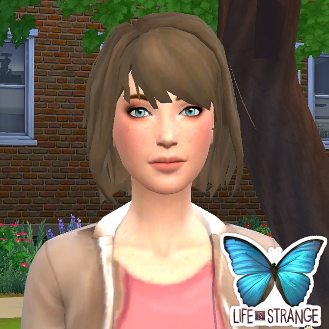 Max Caulfield from Life is Strange by luizgofman at Mod The Sims image 200 670x670 Sims 4 Updates