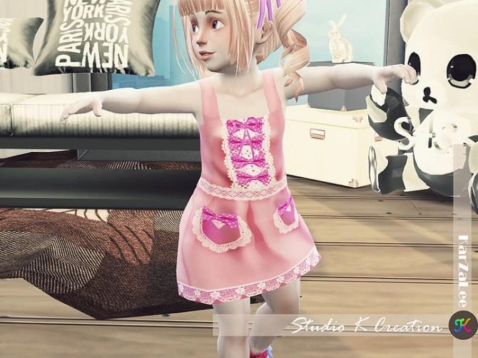 Ichigo dress for toddler at Studio K Creation image 2002 670x502 Sims 4 Updates