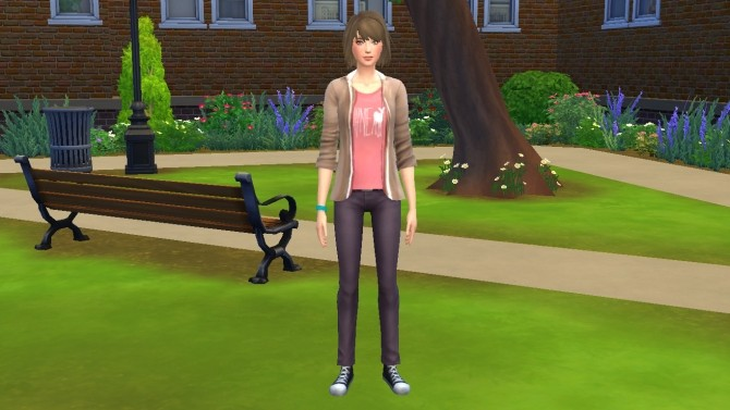 Max Caulfield from Life is Strange by luizgofman at Mod The Sims image 201 670x377 Sims 4 Updates