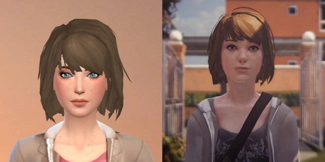 Max Caulfield from Life is Strange by luizgofman at Mod The Sims image 203 670x335 Sims 4 Updates