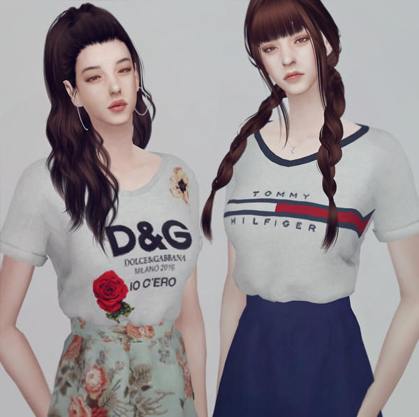 Summer set for female at KK's Sims4 – ooobsooo image 2101 Sims 4 Updates