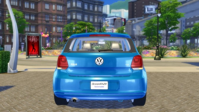VW Polo Highline TSI 2010 (6R) at OceanRAZR image 2103 670x377 Sims 4 Updates
