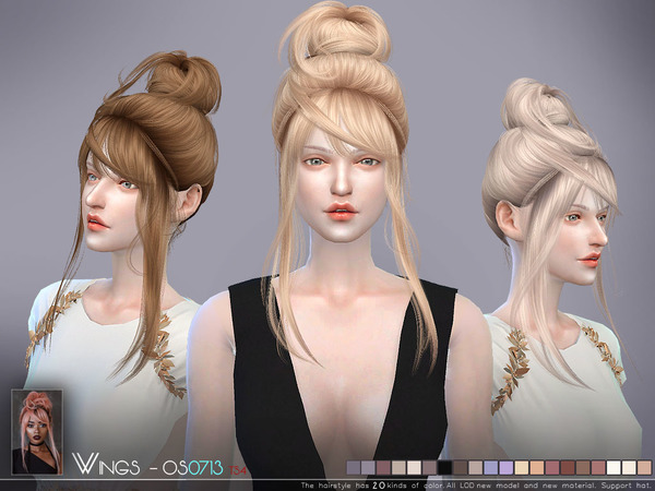 Hair OS0713 by wingssims at TSR image 2105 Sims 4 Updates