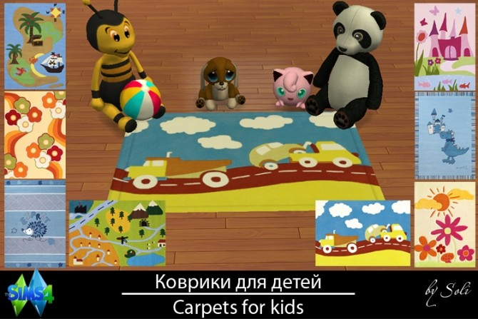 Carpets for kids at Soli Sims 4 image 2108 670x447 Sims 4 Updates