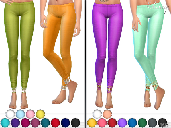 Churidar Leggings Set 20 by ekinege at TSR image 2118 Sims 4 Updates